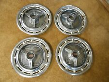 "RARE Set of 4 Chevy Impala SS 1963-64 Wheel Covers Hub Caps-14"" inch"