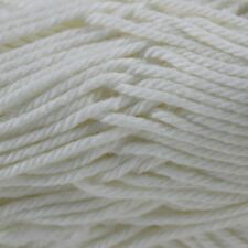 Patons Cotton Blend 8 Ply 50g Ball #03 Cream Soft Cotton/acrylic