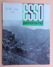 Magazine d'entreprise ESSO PANORAMA n°50 Juillet 1967 Pétrole Oil Industry Revue