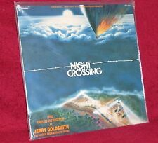 OST LP NIGHT CROSSING JERRY GOLDSMITH 1981 INTRADA SEALED MINT