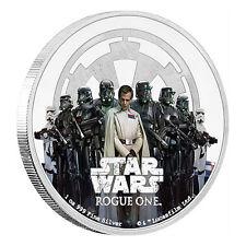 1 oz Silber Star Wars Rogue One The Empire / Das Imperium 2017 Polierte Platte