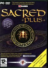 SACRED +plus+ - Brand New in DVD Box - PC hack-and-slash RPG