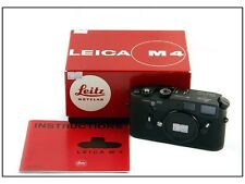 50 Jahre Leica M4 black Chrome Limited RARE w/display+certificate+box