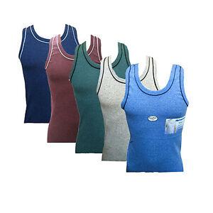 2-5-10.Herren Unterhemd Feinripp Tanktop Achselhemd Melange Shirt 5-13