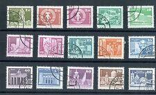 East Germany Stamps: 1980 Full set of Berlin Buildings; Cv=6.00