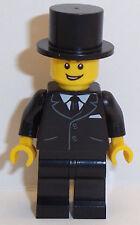 Lego Groom Minifigure & Top Hat *Choice of Hair Colour & Style Available*