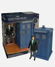 More details for doctor dr who 4th regenerated and tardis classic era figure collector set