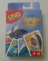 New Discovery Channel Shark Week UNO Playing Card Game Includes A Special Rule