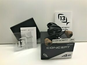 13 Fishing Concept A2  Left Handed Baitcast Reel 7.5:1 - NEW IN BOX - LQQK !!