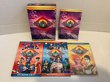 ReBoot: The Definitive Mainframe Edition (DVD), Seasons 1-4 + Extras // Great!!