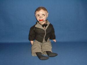 Vintage Charlie McCarthy Ventriloquist Dummy Doll