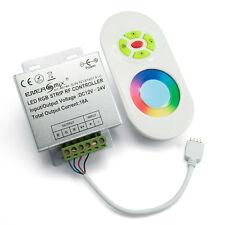 LED RGB Funk Controller Steuergerät 12V 18A mit Touch Fernbedienung