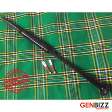 HIGHLAND BAGPIPE PRACTICE CHANTER ROSEWOOD BLACK PLAIN AMOUNT+ 2 REEDS