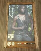 THE WALKING DEAD MICHONNE AMC NYCC EXCLUSIVE PROMO POSTER ART PRINT TOPPS LITHO