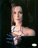"KATE BECKINSALE SIGNED YOUNG SEXY 8""X10"" COLOR PHOTO CERTIFIED WITH JSA COA"