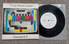 "Young Marble Giants Testcard EP 7""  Post punk"