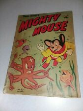 Mighty Mouse #53 St John 1954 golden age superhero funny animal paul terry's
