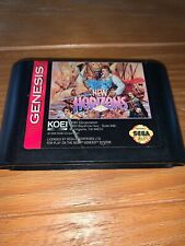 Uncharted Waters New Horizons (Sega Genesis, 1994) Game Only Rare