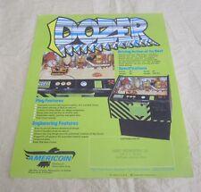 1977 Americoin Dozer Arcade Flyer
