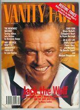 VANITY FAIR APR 1994 JACK NICHOLSON IRVING LAZAR JOAN COLLINS YOUNG DALI LIV TYL