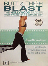 Hollywood Trainer - Butt And Thigh Blast (DVD, 2005) - Region 4