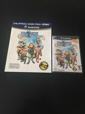 Final Fantasy Crystal Chronicles Gamecube Game & Strategy Guide New (no Cable)