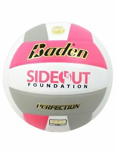 Baden Perfection Dig Pink® Leather Volleyball