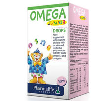Omega Junior drops 30ml for infants and young children with currant oil soybeans