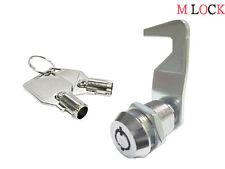 "Homak toolbox lock 1 1/8"" cam lock keyed alike replacement cabinet lock 180 turn"