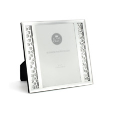 Royal Crest Silver Mirror Photo Frame with Crystals 5 x 7 inches #LP40884