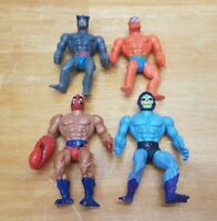 Vintage MOTU Parts Or Repair Skeletor Stratos Beast Man Clawful