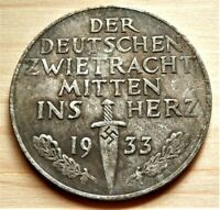 WW2 GERMAN COMMEMORATIVE COLLECTORS COIN '33