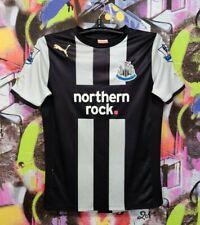 Newcastle United Football Shirt Soccer Jersey Top Puma Youth Size Xl / Mens Xs