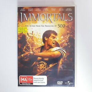 Immortals Movie DVD Region 4 AUS Free Postage - Action Henry Cavill