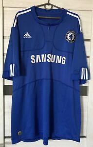 Chelsea Home Football Shirt 2009-2010 SOCCER Jersey Adidas Size:2XL