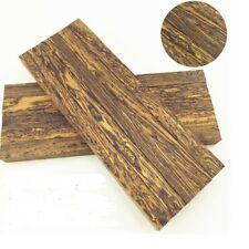 2 pcs Mexico Cocobolo Wood for Knife handle Scales Blanks material,120x40x10mm