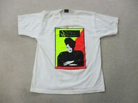 VINTAGE Vickie Winans Shirt Adult Extra Large White Neon R&B Singer Tour Men 90s