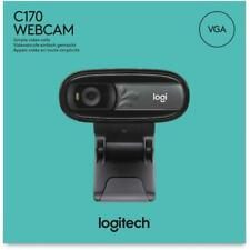 Logitech C170 - Webcam 0,3 Megapixel USB 2.0 1024 x 768 Pixel Videoauflösung...