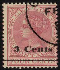 Handstamped Victoria (1840-1901) Ceylon Stamps