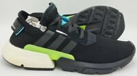 Adidas Originals Pod Boost Trainers AQ1059 Black/White/Green UK11/US11.5/EU46
