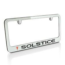 Pontiac Solstice Chrome Metal License Plate Frame
