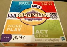 2009 NEW CRANIUM 600 ALL NEW CARDS 3-IN-1 GAME BOARD  BY HASBRO New clay