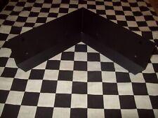 Wholesale Lot 50 - Flat Black Galvanized Steel Rabbit Cage Corner Guard Parts