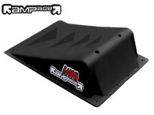 "*BRAND NEW* RAMPAGE - SINGLE MINI SKATE RAMP - BLACK - 15.5"" W x 22"" L x 6"" H"