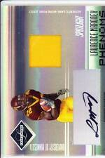 laurence maroney rc rookie draft auto jersey patch minnesota gophers college /25