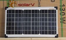 enjoysolar® Monokristallin 20 Watt Solarmodul Mono 20W Solarpanel 12V-Systeme