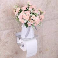 Porte Papier Hygiénique Toilette Mural Dérouleur WC Distributeur