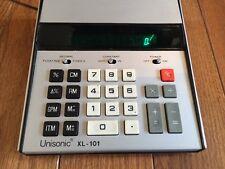 Vintage Unisonic 10 00006000 -Digit Desk-Top Electronic Calculator Xl-101