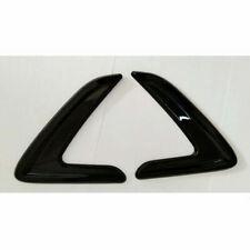 Best 2 Pcs Black Side Marker Fender Air wing Vent Trim For BMW 3' 2013-2016