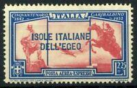 Ägäische Inseln 1932 Sass. 19 Ungebraucht * 100% Garibaldi-Luftpost
